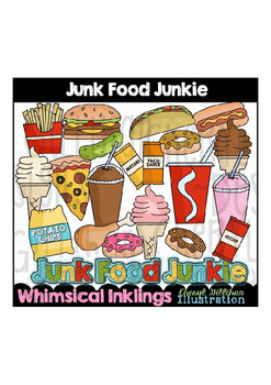 Junk Food Junkie Clipart Collection