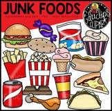 Junk Foods Clip Art Bundle {Educlips Clipart}