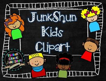 JunkShun Kids Clipart - 5 Sets