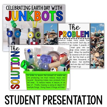 Junkbots - Earth Day Project Based Learning Activity
