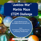 """Junkbox Wars"" Marble Maze Project - Engineering Design Process"