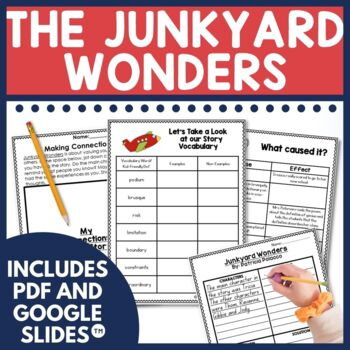 The Junkyard Wonders is one of my favorites. The Junkyard Wonders is perfect any time of year for addressing themes of bullying, friendship, and self-esteem. This unit was developed as a reading and writing unit co-taught with our guidance counselor. It includes both Digital for Google Slides TM and PDF options.