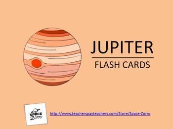 Jupiter Flash Cards ( Solar System )