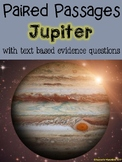Jupiter Paired Passages with Text Based Evidence Questions