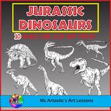 Jurassic Dinosaurs, Clip Art