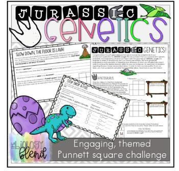 Jurassic Genetics: Monohybrid and Dihybrid Application