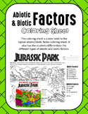 Jurassic Park Biotic/Abiotic Factors