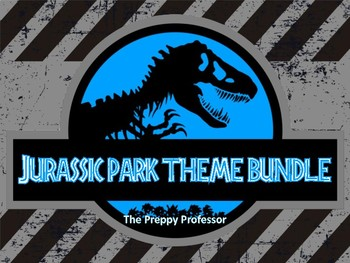 Jurassic World Dinosaur Classroom Theme Bundle By The