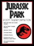 Jurassic Park Classroom Transformation