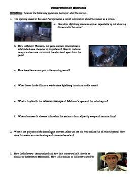 The Film Jurassic Park   Analysis - UK Essays