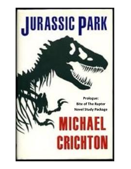 Jurassic Park - Prologue: Bite of the Raptor - Novel Study
