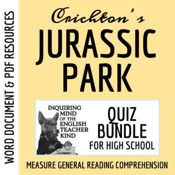Jurassic Park Quiz Bundle