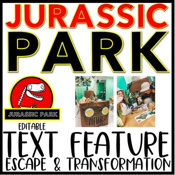 Jurassic Park Text Features Escape