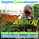Dinosaur Park-Inspired Back to School REVERSE Escape Room! Break IN to ANY Class