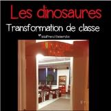 Les dinosaures - Transformation de classe
