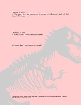 Jurassic Park Unit Plan