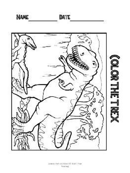 Jurassic Park Workbook