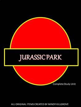 Jurassic Park by Michael Crichton: Editable Novel Study Unit