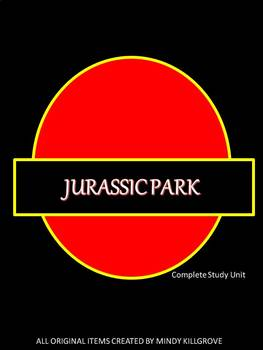 Jurassic Park by Michael Crichton: Editable Novel Study Unit