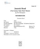 Jurassic Road - An Old Town Road/Dem Bones Mashup - 1st Year Band