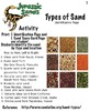 Art ... Free! Jurassic Sands - 4 Activities: Sand Sedimentary Edu (19 pg) STEAM
