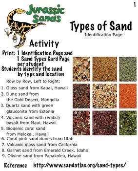 Free! Jurassic Sands - 4 Activities: Sand Sedimentary Edu (19 pg) STEAM
