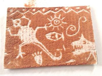 Jurassic Sands - Make Art History Come Alive-Petroglyph Kit  (Set of 24)