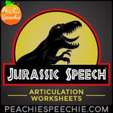 Jurassic Speech™ Dinosaur Articulation Worksheets