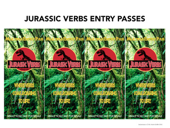 Jurassic Verbs- Mini-unit on Action, Helping & Being Verbs