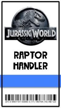 Jurassic World Badges