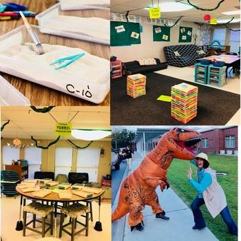 Jurassic World - Classroom Transformation