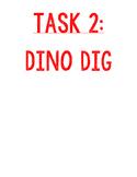 Jurassic World Task 2 of 4 - Dinosaur Dig - Digging for Fossils