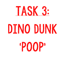 Jurassic World Task 3 of 4 - Dino Dunk - Food Chains and F