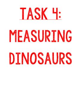 Jurassic World Task 4 of 4 - Measuring Dinosaurs