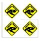 Jurassic World Task Envelope Labels