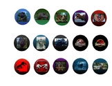 Jurassic collectibles: Part 4/4a stickers