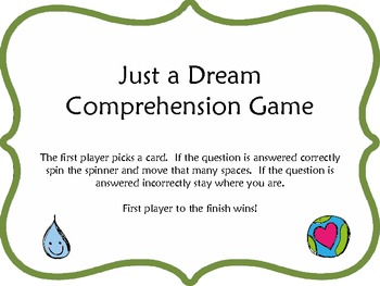 Just A Dream - Comprehension Game