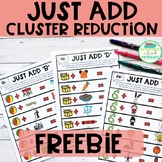 Just Add Cluster Reduction FREEBIE