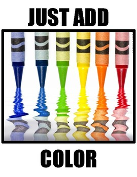 Just Add Color - Formatting