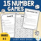 Math Games - Just Add Dice