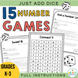 Dice Math Games