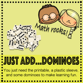 Compare Numbers with Dominoes Activity