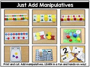 Just Add Manipulatives Part 1