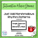 Just Add Marshmallows Level 1: An interactive rhythm pattern game