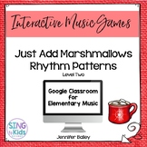 Just Add Marshmallows Level 2: An interactive rhythm game