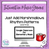 Just Add Marshmallows Level 3: An interactive rhythm pattern game