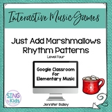 Just Add Marshmallows Level 4: An interactive rhythm pattern game