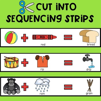 Just Add 'R': R-Blend Cluster Reduction Sequencing Strips