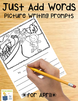 Picture Writing Prompts for April