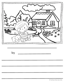 Picture Writing Prompts for March {Spring Writing Center Activities}